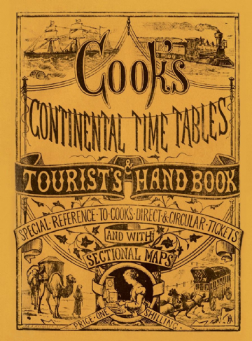 Cooks Continental <br> MARCH 1873 EDITION REPRINT